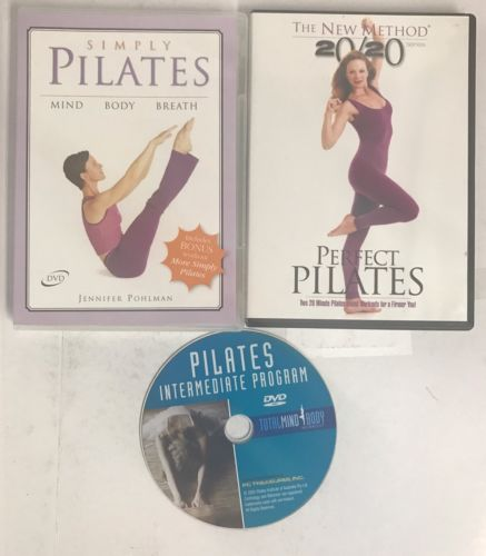 Simply & Perfect Pilates, 3 DVDs introduction and intermediate set