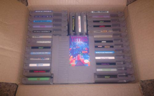 NES LOT 30 Nintendo Games