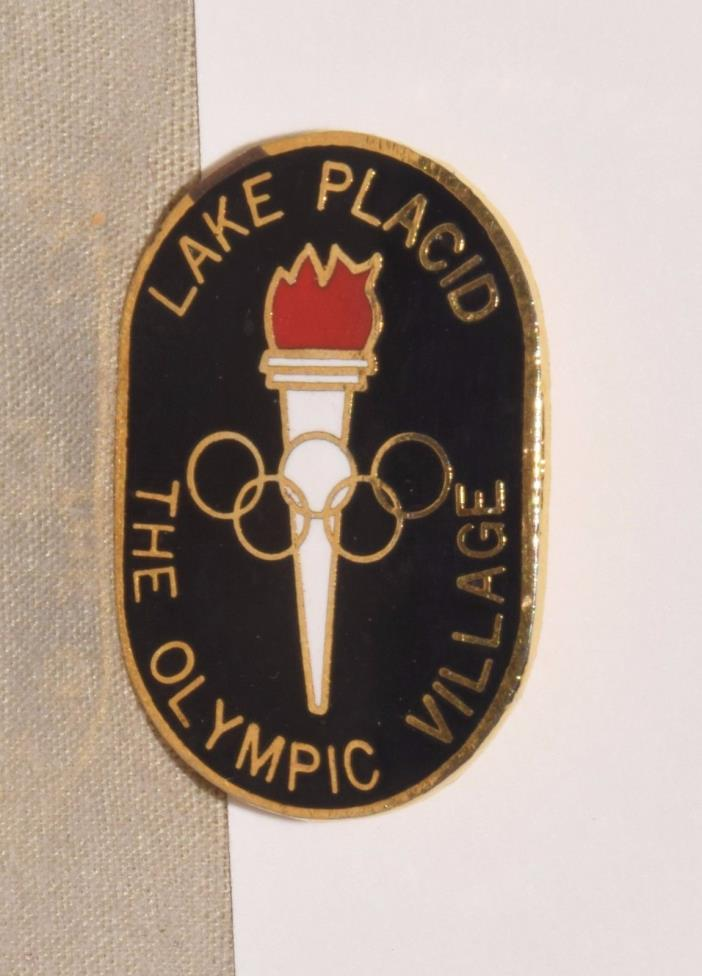 1980 Lake Placid Winter Olympic Games Olympic Village Pin