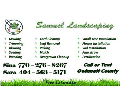 Lawn Care and Landscaping in Gwinnett County