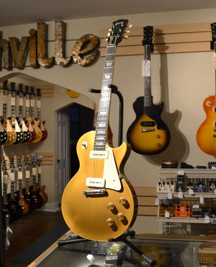 REAL 1953 Gibson Les Paul Goldtop Wraparound, Owned by Ed King of Lynyrd Skynyrd