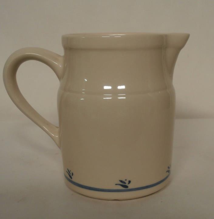 Roseville Ohio Friendship Pottery Pitcher - Blue Design
