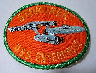 Star Trek USS ENTERPRISE Sew On Embroidered Patch 4
