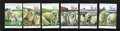 New Zealand 1991 Sheep Farming SG1579/84 MNH