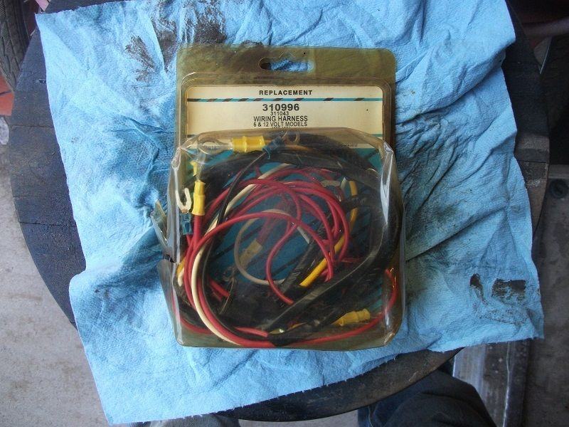 New 6 & 12 volt Wiring Harness Ford Tractors & Forklift & Power Industrial Units