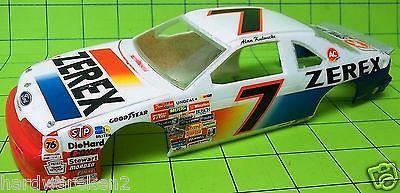 BODY - # 7 ZEREX 1989-1992 FORD THUNDERBIRD NASCAR RACE CAR BODY - 1/24