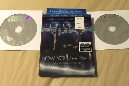 COMEDY Movie Collection Finding Dory Now You See Me Wall Street BLURAY DVD
