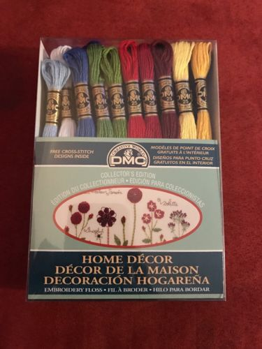 DMC Creative World EMBROIDERY FLOSS COLLECTOR'S  EDITION HOME DECOR - 36 skeins
