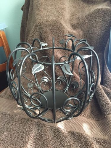 Partylite PUMPKIN PATCH PILLAR HOLDER - Great Conditon