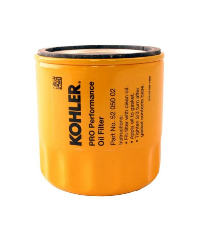 KOHLER 52 050 02-S Engine Oil Filter Extra Capacity For CH11 - CH15, CV11 - CV22