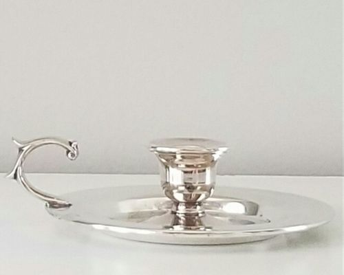 Vintage Silver Plated Candle Holder