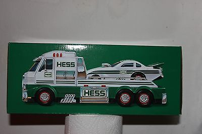 2016 HESS Toy Truck and Dragster NIB