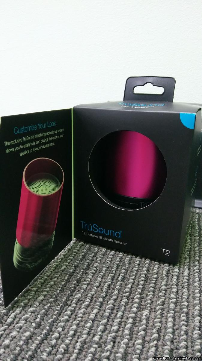 Pink Bluetooth Speaker