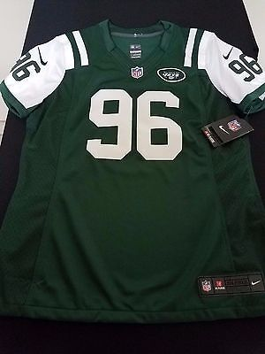 New Women's Nike New York Jets Limited Jersey Muhammad Wilkerson Style 469878 LG