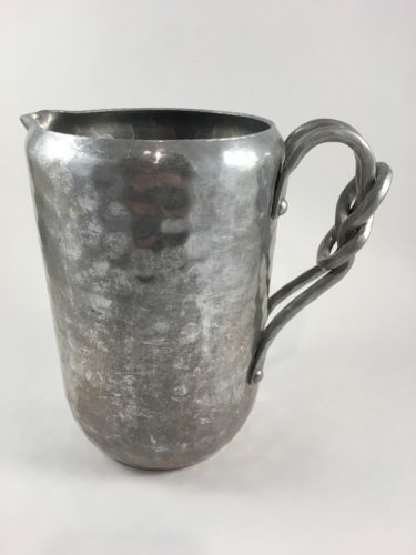 Water Pitcher (antique aluminum)