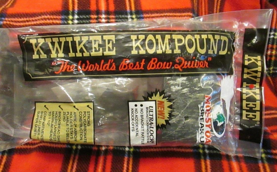 KWIKEE KOMPOUND BOW QUIVER MOSSY OAK BREAK-UP CAMO