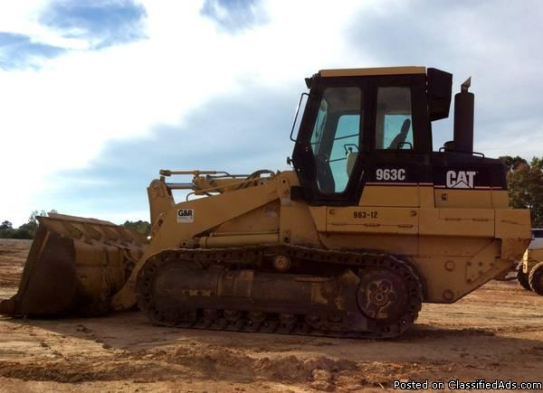 2001 - Caterpillar 963C Crawler Loader
