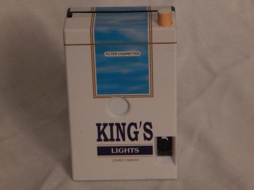 Vintage King's Lights Cigarettes Promotional 28MM Camera