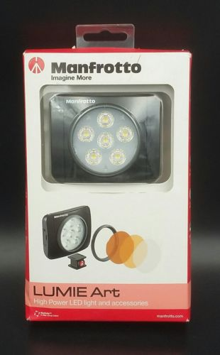 Manfrotto Lumie Art On-Camera 6 Diodes LED Light (Black) Mfr # MLUMIEART-BK