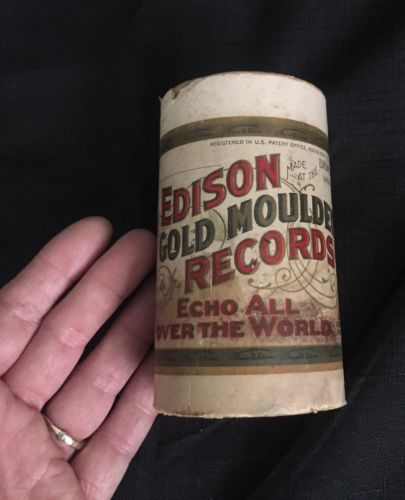 Edison Gold Moulded Records -
