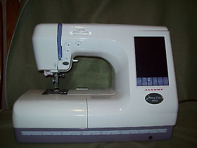 Janome 10000 sewing machine for sale classifieds for Janome memory craft 350e manual