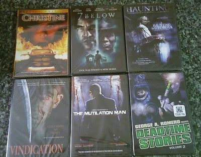 lot of 30 brand new sealed horror DVDs DVD rare cult OOP
