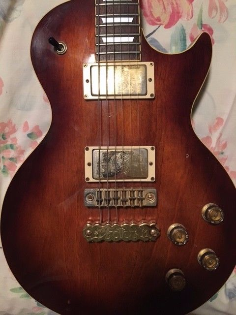 Ibanez Les Paul Lawsuit guitar