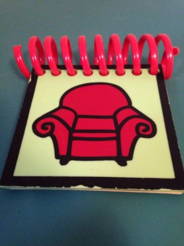 Steve's HANDY DANDY NOTEBOOK RED CHAIR