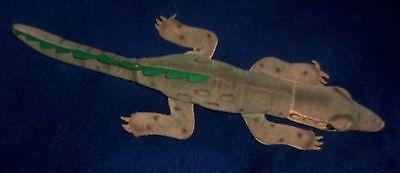 Vintage Steiff Gaty Crocodile Mohair Plush 14