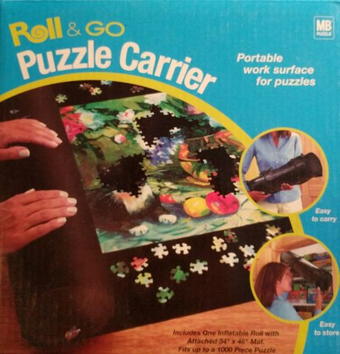 Roll and Go Puzzle Carrier Milton Bradley