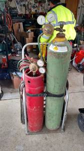 Oxygen Acetylen Torch Set (Federal Way)