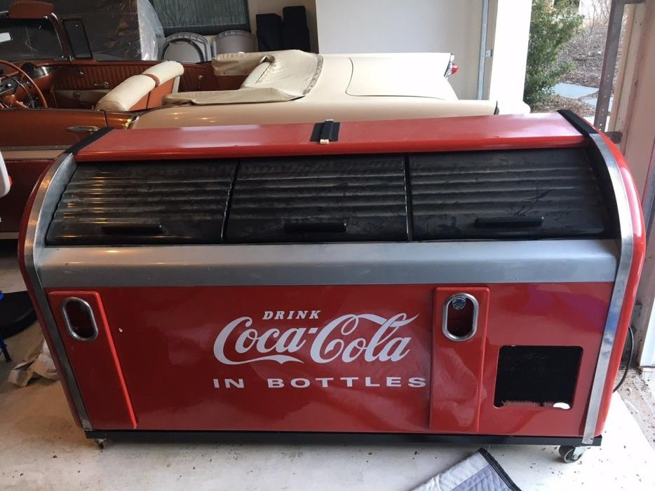 1950 coca cola cooler for sale classifieds for 1 door retro coke cooler