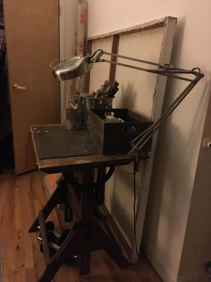 Painting supplies/Drafting Table/Easel/Canvas
