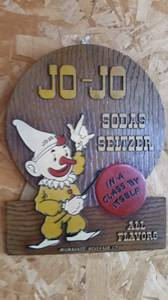 Jo Jo Seltzer Sign