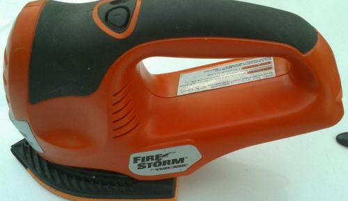 Black decker Firestorm finishing sander 18v tool only :)