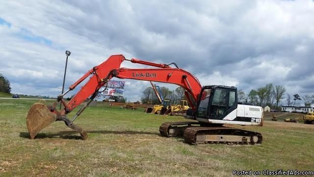 2008 - LinkBelt 210X2 Hydraulic Excavator