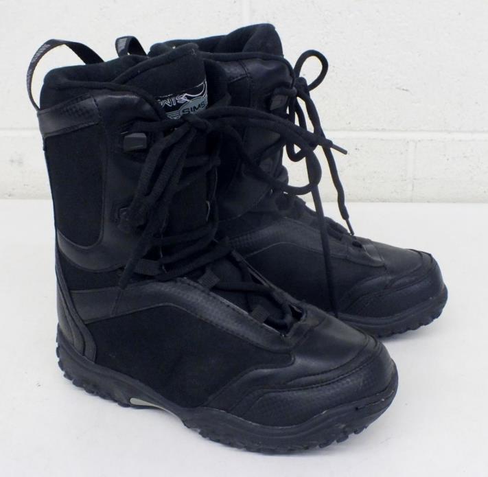 SIMS Men's US-Size 6 Black CALIBER Snowboard Boots