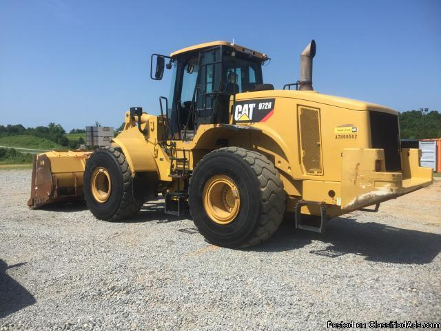 2007 - Caterpillar 972H Wheel Loader