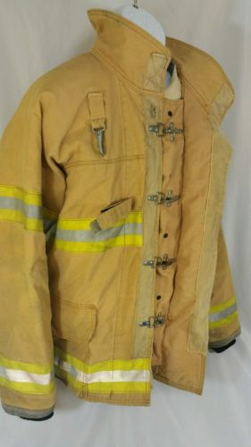 Fire-Gear Firefighter Bunker Structure Turn Out Gear Fire Coat - Size 46 R (XL)
