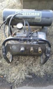 air compressor (blue hill)