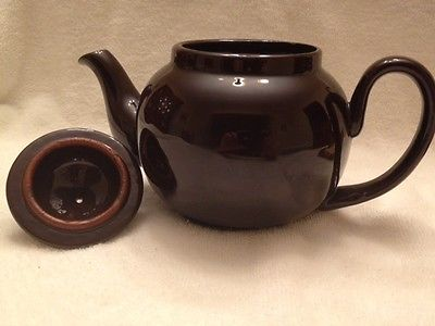 Genuine Ridgeway Redware Old English Teapot