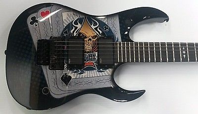 DBZ Guitars Halcyon Death Dealer EMG 81 EMG 85 Floyd Rose - NEW OLD STOCK (RARE)