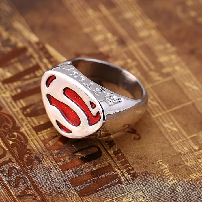 SUPERMAN S LOGO RING