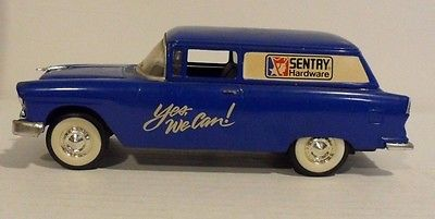 Sentry hardware bank '55 Chevy Liberty metal diecast Limited Edition 1994 truck