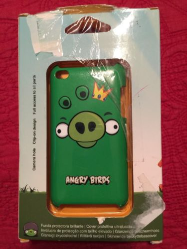 Angry Birds Case For iPod Touch 4G (Pig King)