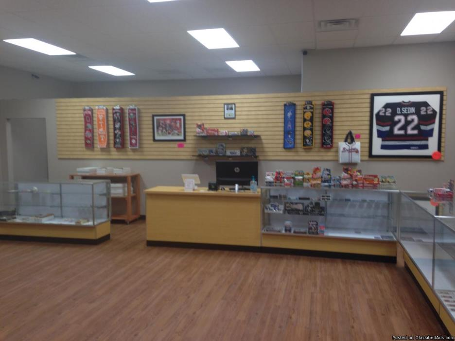 New Sports card Store