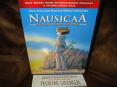 NAUSICAA VALLEY OF THE WIND DVD MISS PEREGRINE'S HOME FOR PECULIAR CHILDREN LOT