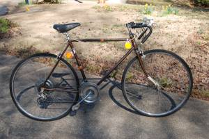 10 speed racer road bike with 27