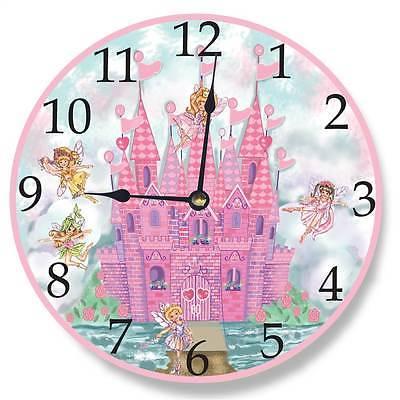 Castle Wall Clock in Pink [ID 3455511]