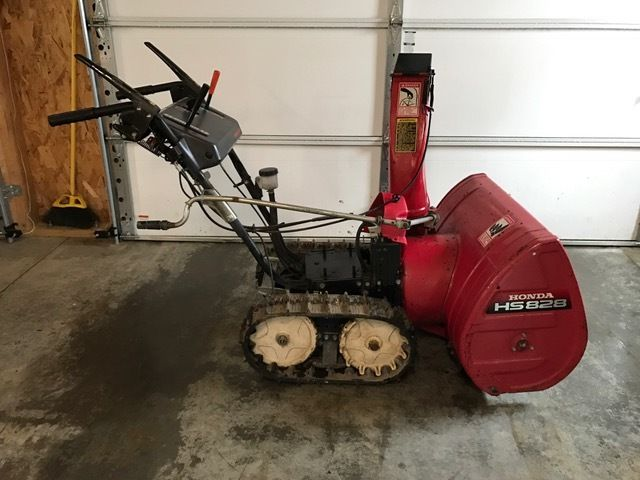 Honda HS828 Track Drive Snowblower WITHOUT ENGINE 28